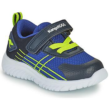 Pantofi Băieți Pantofi sport Casual Kangaroos KI-TWEE EV Albastru / Verde