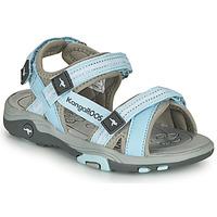 Pantofi Copii Sandale  Kangaroos K-LENI Albastru / Gri