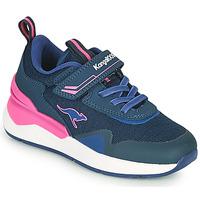 Pantofi Fete Pantofi sport Casual Kangaroos KD-GYM EV Albastru / Roz