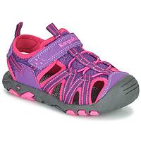 Pantofi Fete Sandale  Kangaroos K-ROAM Roz / Gri