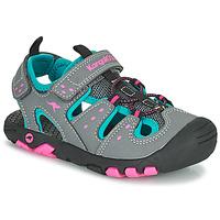 Pantofi Fete Sandale  Kangaroos K-TREK Gri / Albastru