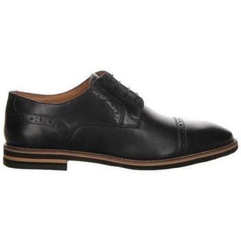 Pantofi Bărbați Pantofi Derby Salamander Vasco Flats Black