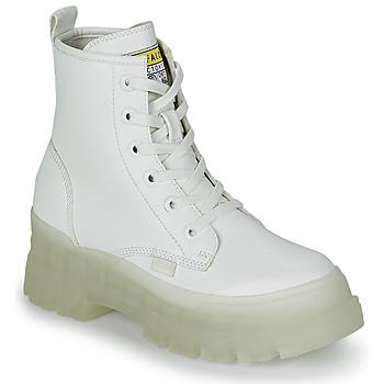 Pantofi Femei Ghete Buffalo ASPHA RLD Alb