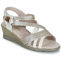 Pantofi Femei Sandale  Damart 61170 Argintiu
