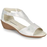 Pantofi Femei Sandale  Damart 49019 Argintiu