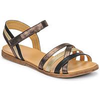 Pantofi Fete Sandale  Bullboxer ALM003F1S-ROSE Negru