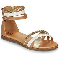 Pantofi Fete Sandale  Bullboxer ALM013F1S-GOLD Maro