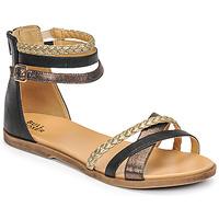 Pantofi Fete Sandale  Bullboxer ALM013F1S-ROSE Negru