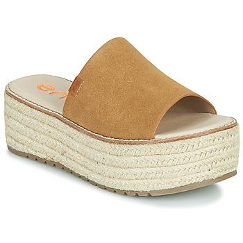 Pantofi Femei Papuci de vară Emmshu NELIE Coniac
