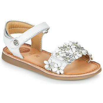 Pantofi Fete Sandale  Gioseppo MAZARA Alb / Argintiu