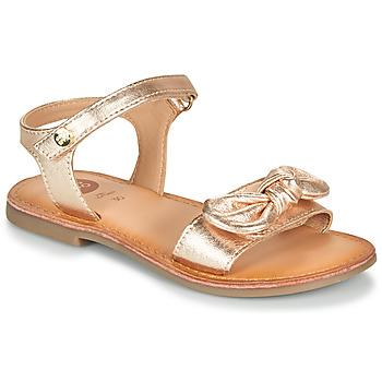 Pantofi Fete Sandale  Gioseppo CLEBER Roz / Gold