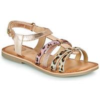 Pantofi Fete Sandale  Gioseppo PALMYRA Roz / Gold