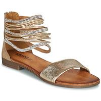 Pantofi Femei Sandale  IgI&CO BRONIA Auriu / Coniac