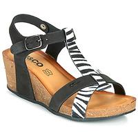 Pantofi Femei Sandale  IgI&CO JOULIA Negru / Alb