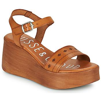 Pantofi Femei Sandale  Musse & Cloud MILI Coniac