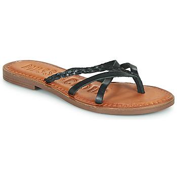 Pantofi Femei  Flip-Flops Musse & Cloud KEOP Negru