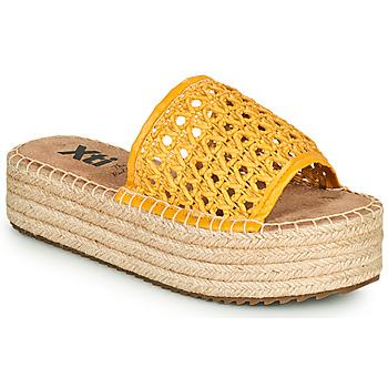 Pantofi Femei Papuci de vară Xti FREDI Galben