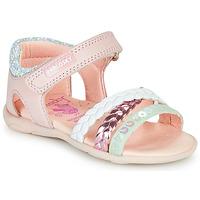 Pantofi Fete Sandale  Pablosky KINNO Roz