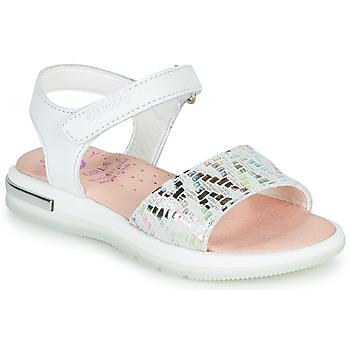 Pantofi Fete Sandale  Pablosky CAMMI Alb / Multico