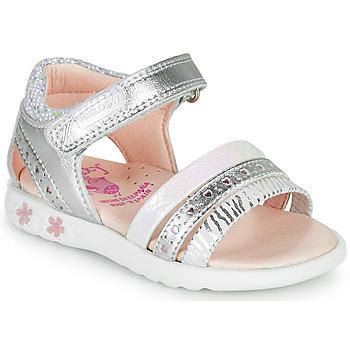 Pantofi Fete Sandale  Pablosky ELLO Argintiu