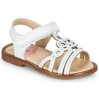 Pantofi Fete Sandale  Pablosky MARIE Alb
