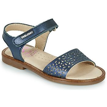 Pantofi Fete Sandale  Pablosky LILLA Albastru