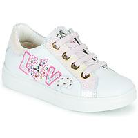Pantofi Fete Pantofi sport Casual Pablosky AMME Alb / Roz
