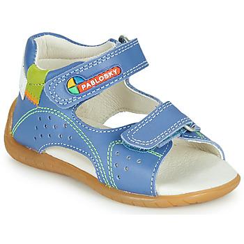 Pantofi Băieți Sandale  Pablosky KINNI Albastru