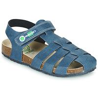 Pantofi Băieți Sandale  Pablosky DAMMI Albastru