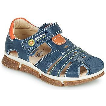 Pantofi Băieți Sandale  Pablosky REAL Albastru