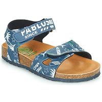 Pantofi Băieți Sandale  Pablosky FOUNIR Albastru