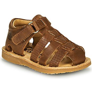 Pantofi Băieți Sandale  Citrouille et Compagnie MISTIGRI Camel