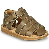 Pantofi Băieți Sandale  Citrouille et Compagnie MISTIGRI Kaki