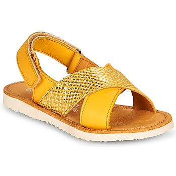Pantofi Fete Sandale  Citrouille et Compagnie OVETTE Galben
