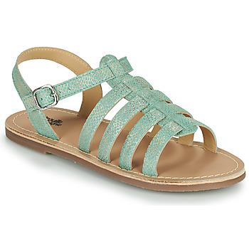 Pantofi Fete Sandale  Citrouille et Compagnie MAYANA Turcoaz