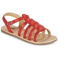 Pantofi Fete Sandale  Citrouille et Compagnie MAYANA Roșu
