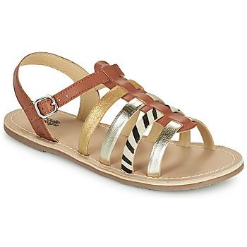 Pantofi Fete Sandale  Citrouille et Compagnie MAYANA Tan
