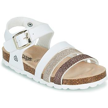 Pantofi Fete Sandale  Citrouille et Compagnie OMAYA Alb