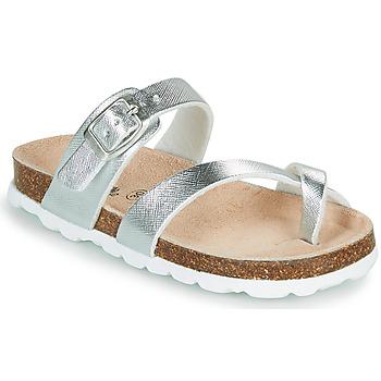 Pantofi Fete Papuci de vară Citrouille et Compagnie OMILA Argintiu