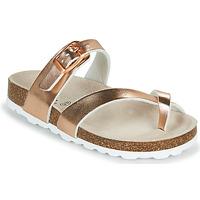 Pantofi Fete Papuci de vară Citrouille et Compagnie OMILA Roz / Auriu