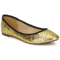 Pantofi Femei Balerin și Balerini cu curea Friis & Company PERLA Auriu