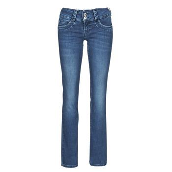 Îmbracaminte Femei Jeans drepti Pepe jeans GEN Albastru