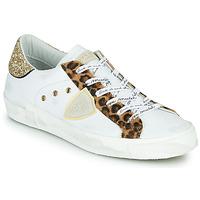 Pantofi Femei Pantofi sport Casual Philippe Model PARIS Alb / Leopard