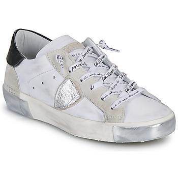 Pantofi Femei Pantofi sport Casual Philippe Model PARIS Alb