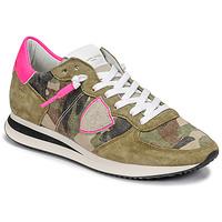 Pantofi Femei Pantofi sport Casual Philippe Model TROPEZ X Camuflaj