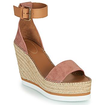 Pantofi Femei Espadrile See by Chloé GLYN Roz / Nude
