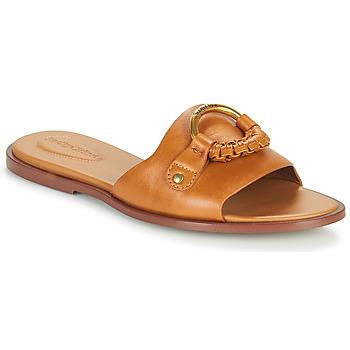 Pantofi Femei Papuci de vară See by Chloé HANA SB3305 Coniac