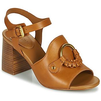 Pantofi Femei Sandale  See by Chloé HANA SB3406 Coniac