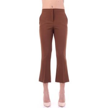 Îmbracaminte Femei Pantaloni de costum Angela Davis EG71 Tabacco