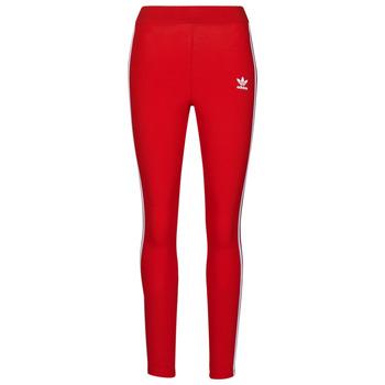 Îmbracaminte Femei Colanti adidas Originals 3 STR TIGHT Roșu